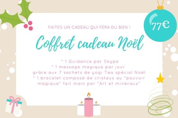 Coffret cadeau de Noel avec guidance