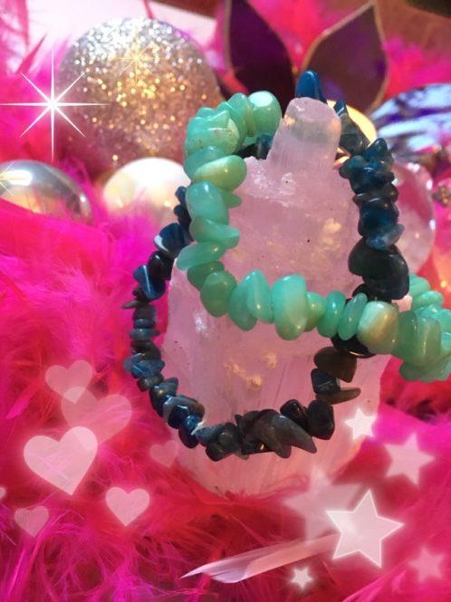 Bracelet en pierres fines pour un cadeau de Noel réussit