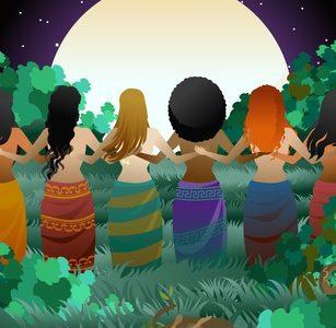 Pleine Lune + Méditation + Lumière Dorée = Esprit apaisé